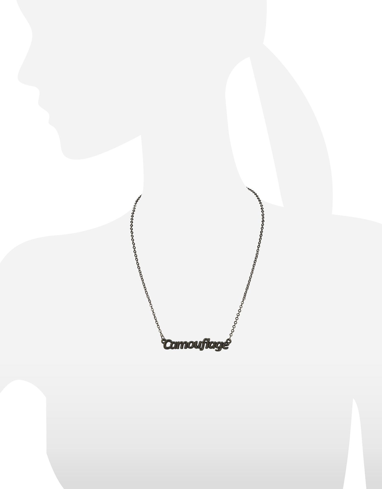 Patrizia Pepe | Camouflage - Женское Ожерелье Цвета Хаки | Clouty