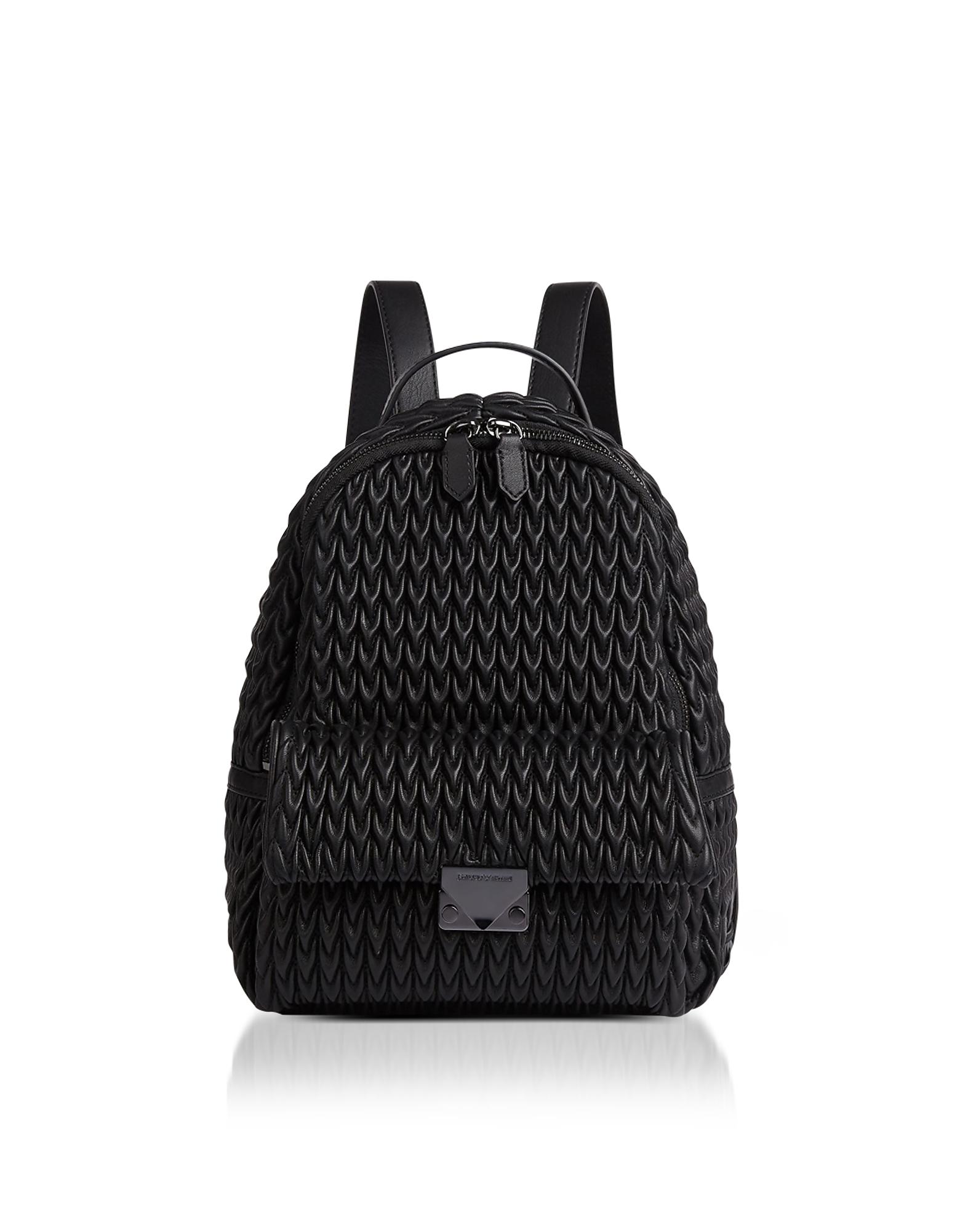 6fbcd07b16aa Стеганый Рюкзак из Эко-Кожи Y3L019YKT4I80001BLACK, цвет: чёрный ...