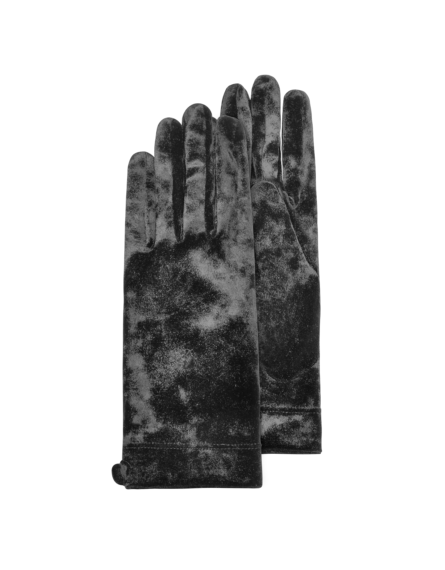 Forzieri Exclusives   черный Черные Женские Перчатки из Синели   Clouty