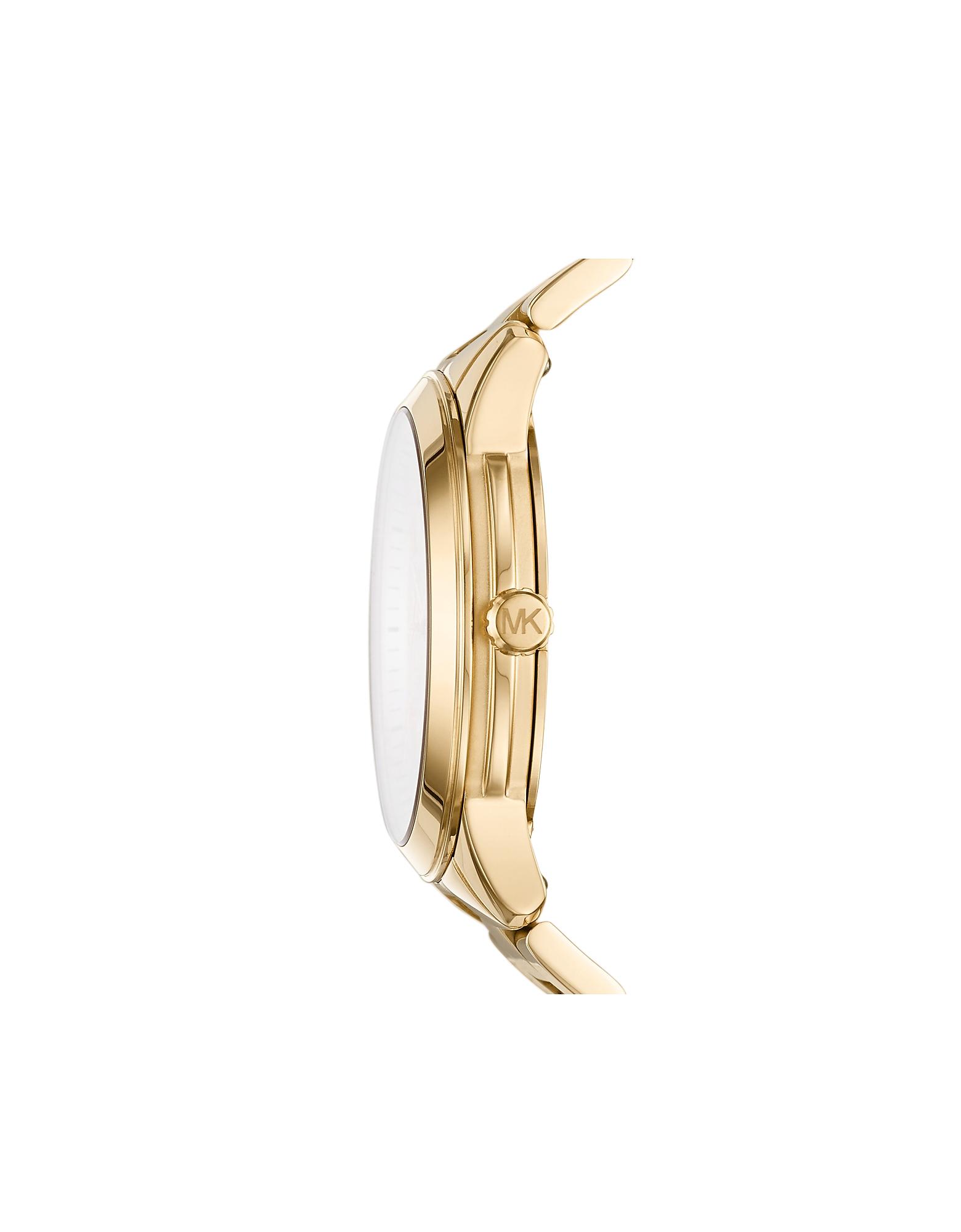 MICHAEL KORS   золотистый Runway - Золотистые Многофункциональные Часы   Clouty
