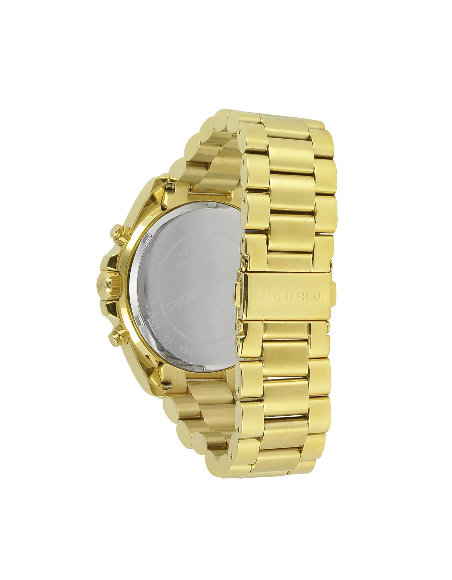 MICHAEL KORS | золотистый Mid-Size Bradshaw - Часы Хронограф | Clouty