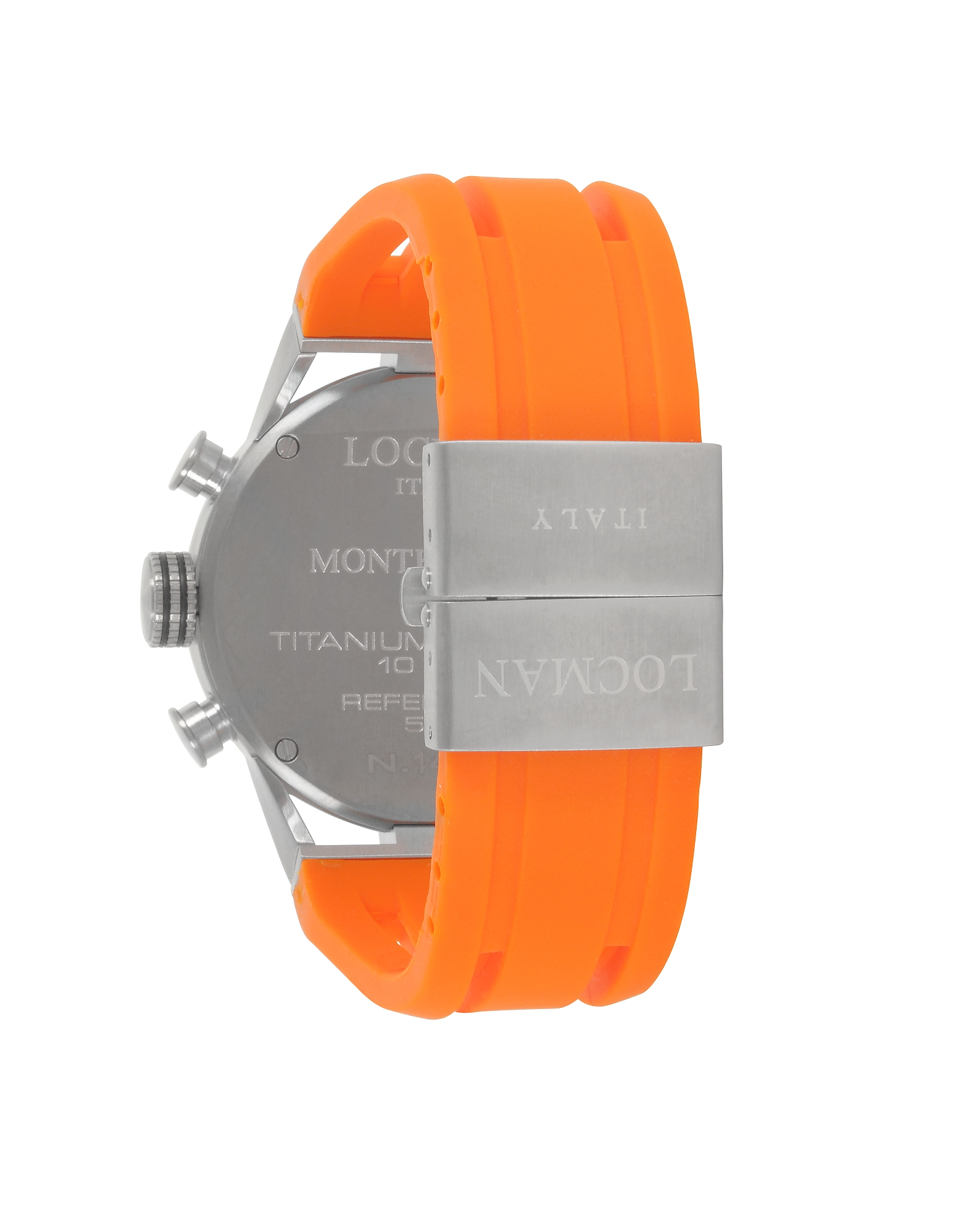 Locman | черный Montecristo - Мужские Часы из Нержавеющей Стали и Титана | Clouty