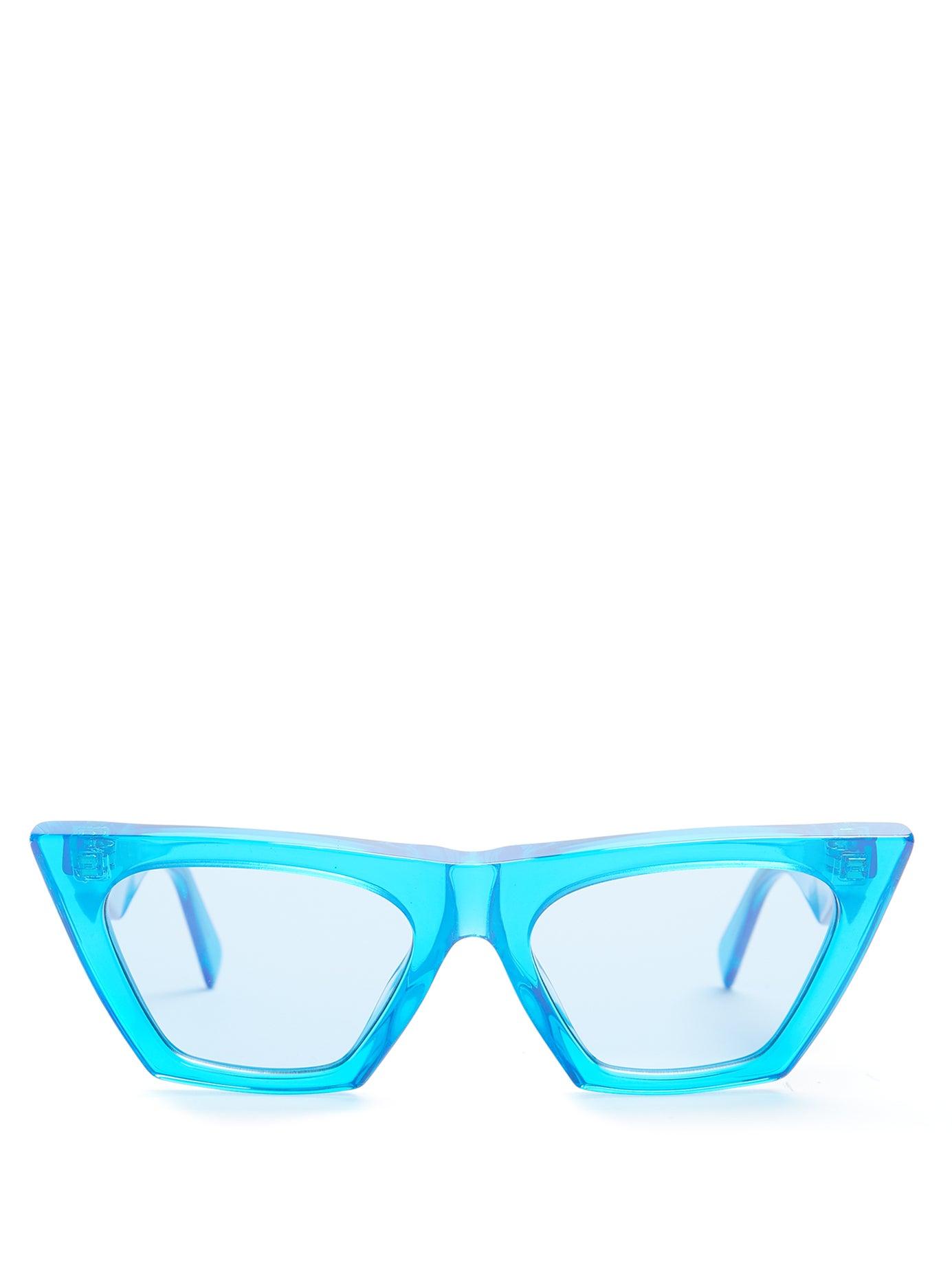 CÉLINE | Cat-eye acetate sunglasses | Clouty