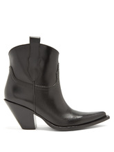 Фото Western leather ankle boots
