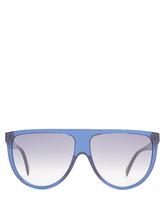 Фото Shadow aviator D-frame acetate sunglasses