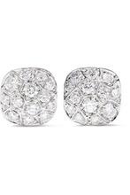 Pomellato - Nudo Solitaire 18-karat Rose And White Gold Diamond Earrings - one size