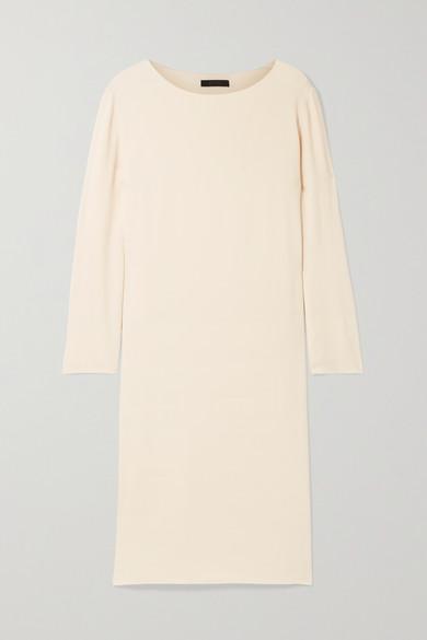 The Row | The Row - Larina Crepe Dress - Cream | Clouty
