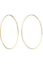 Фото Loren Stewart - Infinity 10-karat Gold Hoop Earrings - one size