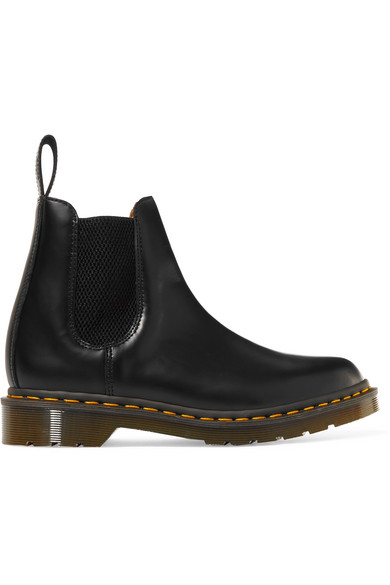 Comme Des Garçons Comme Des Garçons | Comme des Garcons Comme des Garcons - + Dr. Martens Leather Chelsea Boots - Black | Clouty