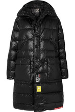 Brumal - + R13 Hooded Quilted Shell Down Jacket - Black