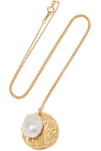Alighieri - The Remedy Chapter Ii Gold-plated Pearl Necklace - one size