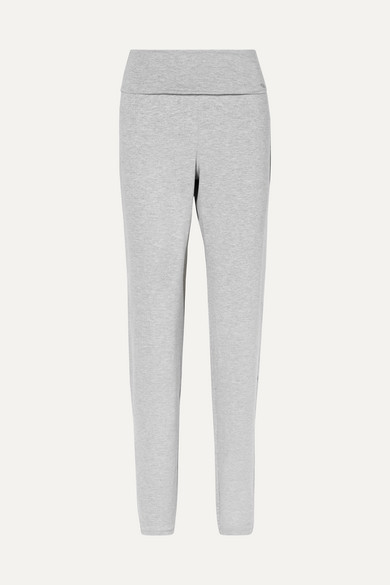 Hanro | Hanro - Yoga Lounge Stretch-modal Pants - Gray | Clouty