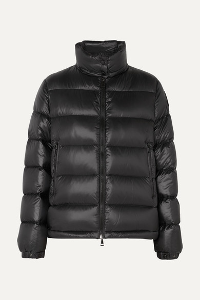 MONCLER | Moncler - Quilted Shell Down Jacket - Black | Clouty