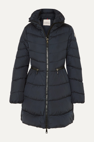MONCLER | Moncler - Quilted Shell Down Jacket - Navy | Clouty