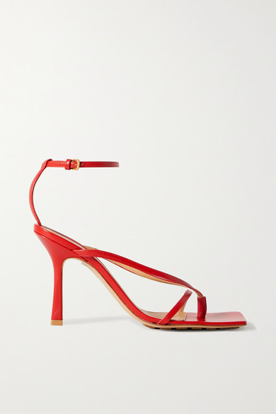 Bottega Veneta | Bottega Veneta - Leather Sandals - Red | Clouty