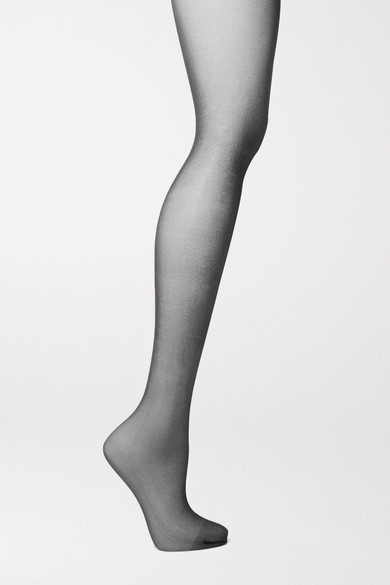 Wolford   Wolford - Nude 8 Denier Tights - Black   Clouty