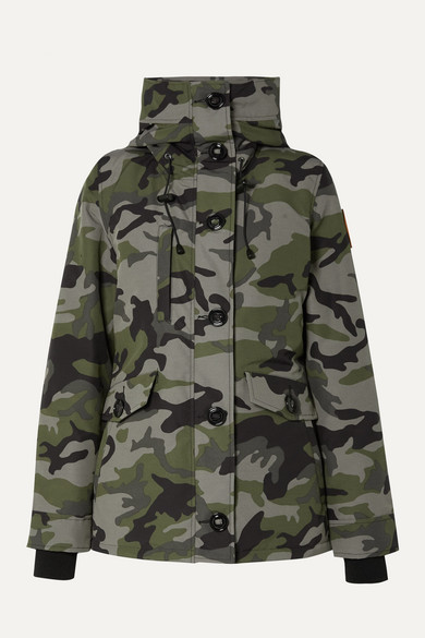 CANADA GOOSE   Canada Goose - Rideau Camouflage-print Shell Down Parka - Green   Clouty