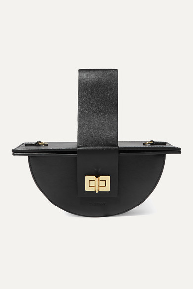 The Sant | The Sant - Amigasa Leather Tote - Black | Clouty