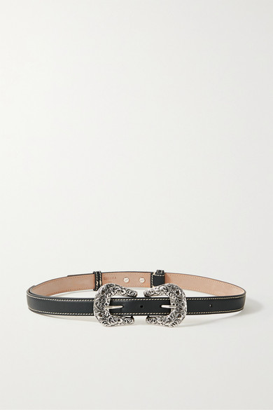 Acne Studios | Acne Studios - Leather Belt - Black | Clouty