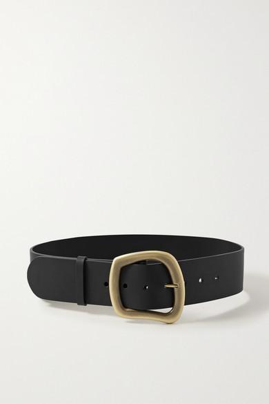 Gabriela Hearst | Gabriela Hearst - Simone Leather Belt - Black | Clouty
