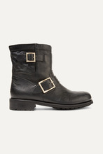 Фото Jimmy Choo - Youth Leather Ankle Boots - Black
