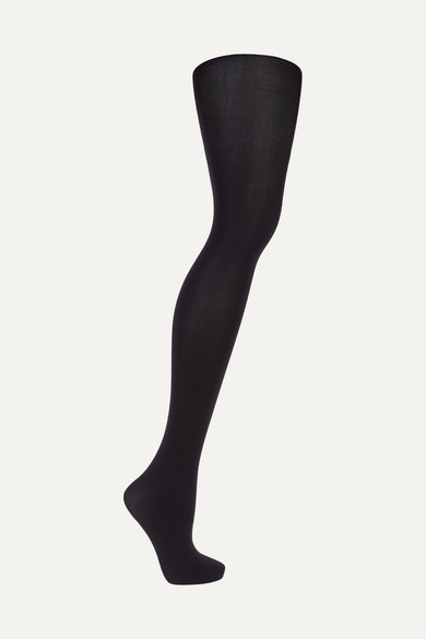Wolford | Wolford - Set Of Two Velvet De Luxe 66 Denier Tights - Black | Clouty
