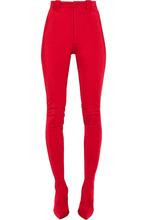 Фото Balenciaga - Stretch-satin Skinny Pants - Red