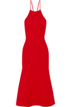 Фото Alexander Wang - Cutout Stretch-knit Dress - Red