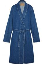 Фото Balenciaga - Belted Denim Coat - Indigo