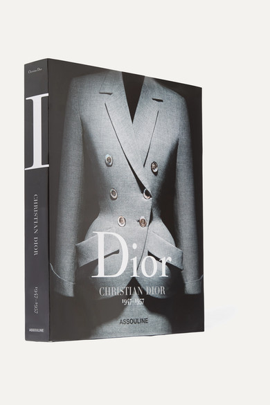 Assouline | Assouline - Dior: Christian Dior 1947-1957 By Olivier Saillard Hardcover Book - Black | Clouty