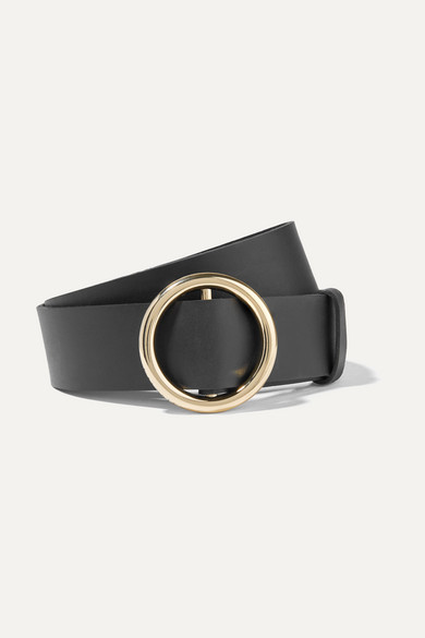 Frame | FRAME - Le Circle Leather Belt - Black | Clouty