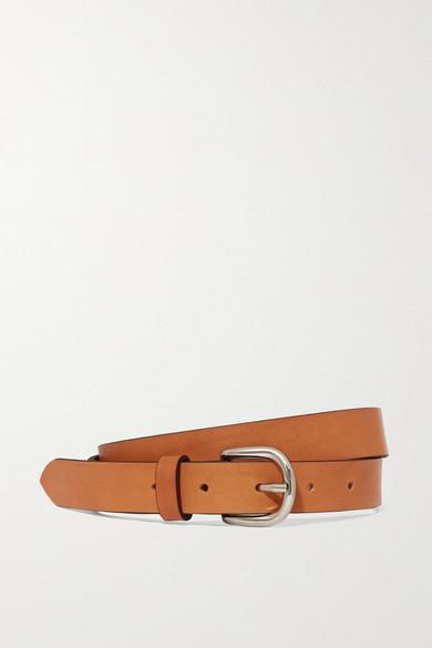 Isabel Marant | Isabel Marant - Zap Leather Belt - Camel | Clouty