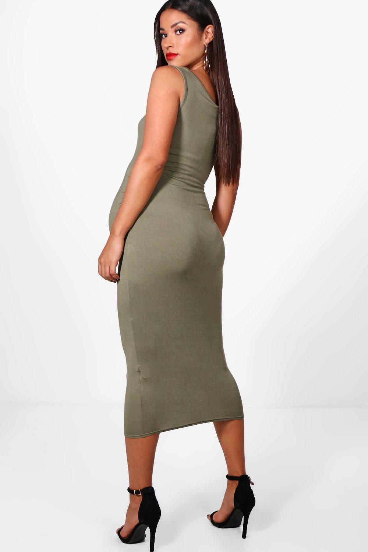 Boohoo | Облегающее платье для беременных | Clouty
