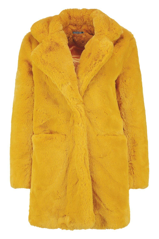 Boohoo | Пальто Boutique из искусственного меха | Clouty