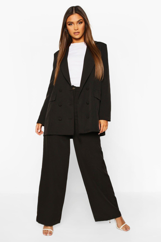 Boohoo | Широкие приталенные брюки | Clouty