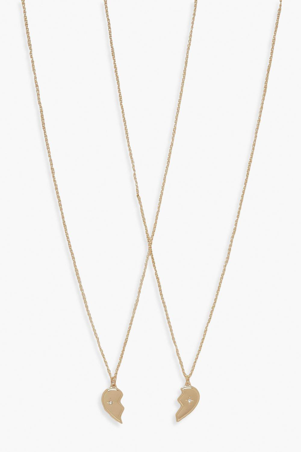 Boohoo | Best Friend Necklace | Clouty