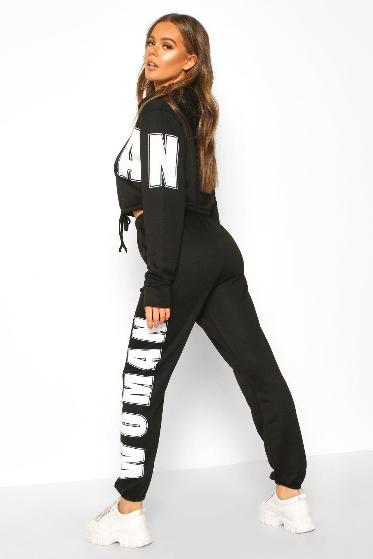 Boohoo | Спортивный костюм с толстовкой оверсайз Woman | Clouty