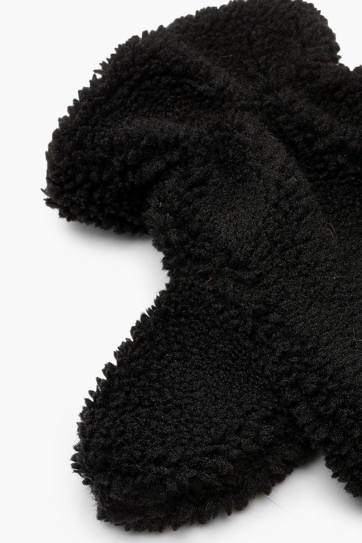 Boohoo | Плюшевые варежки | Clouty