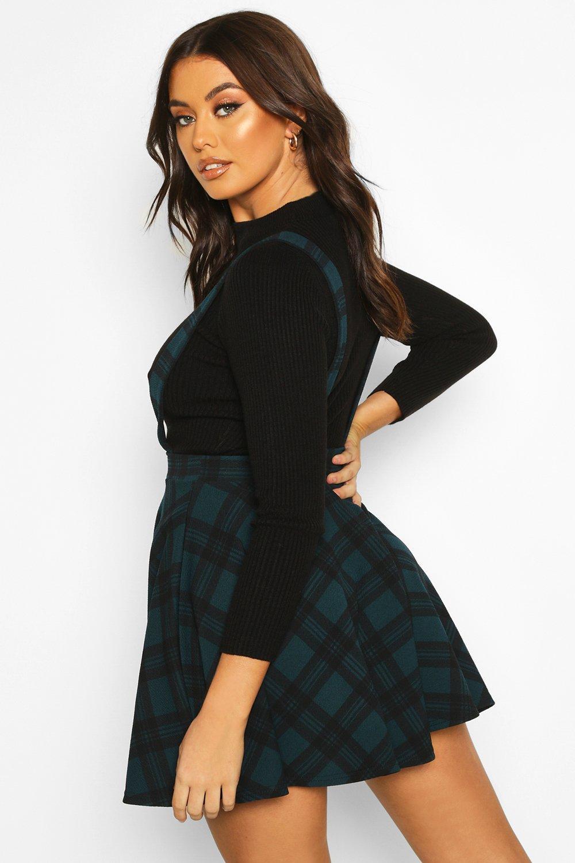 Boohoo | Сарафан-юбка в шотландскую клетку | Clouty