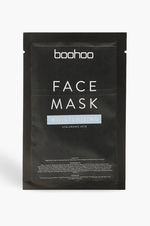 Boohoo | Увлажняющая тканевая маска с гиалуроновой кислотой | Clouty