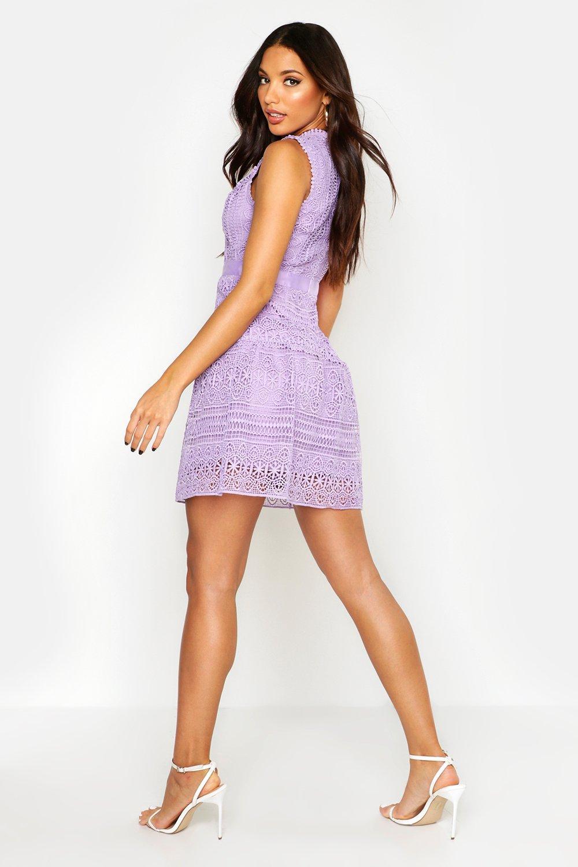 Boohoo | Связанное крючком платье | Clouty