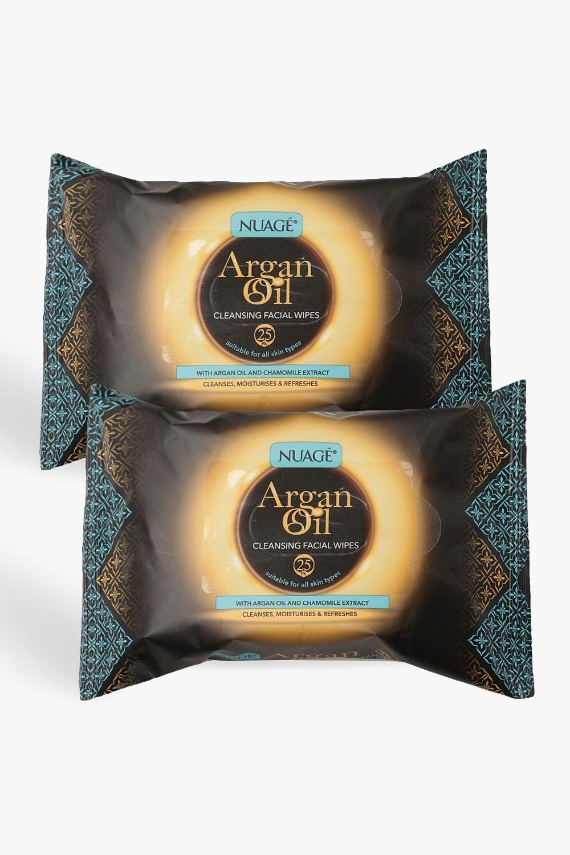 Boohoo | Двойная упаковка из очищающих салфеток Nuage с аргановым маслом | Clouty