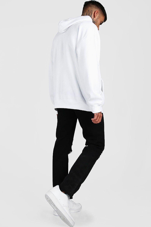 Boohoo | Приталенные джинсы с прорезями | Clouty
