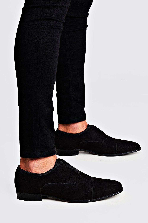 Boohoo   Бархатные туфли без шнурков   Clouty