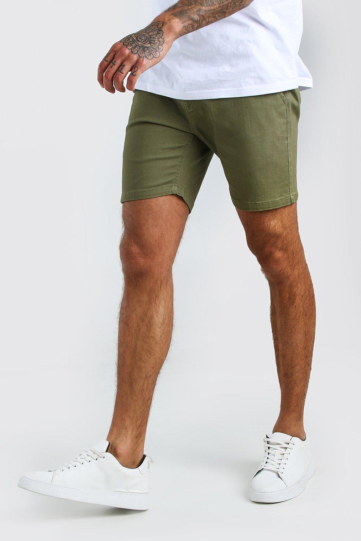 Boohoo   Узкие эластичные шорты-чинос   Clouty