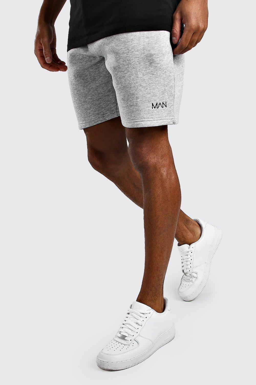 Boohoo | Оригинальные шорты MAN свободного кроя из джерси | Clouty