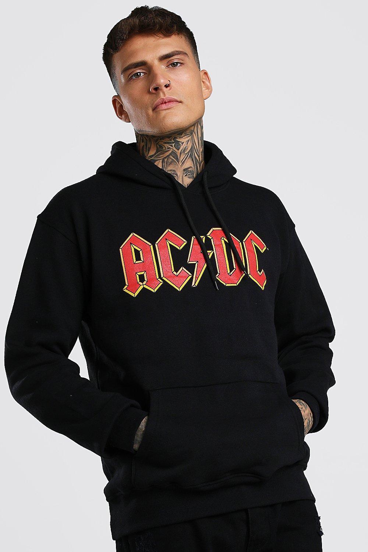 Boohoo | AC-DC Print Hoodie | Clouty