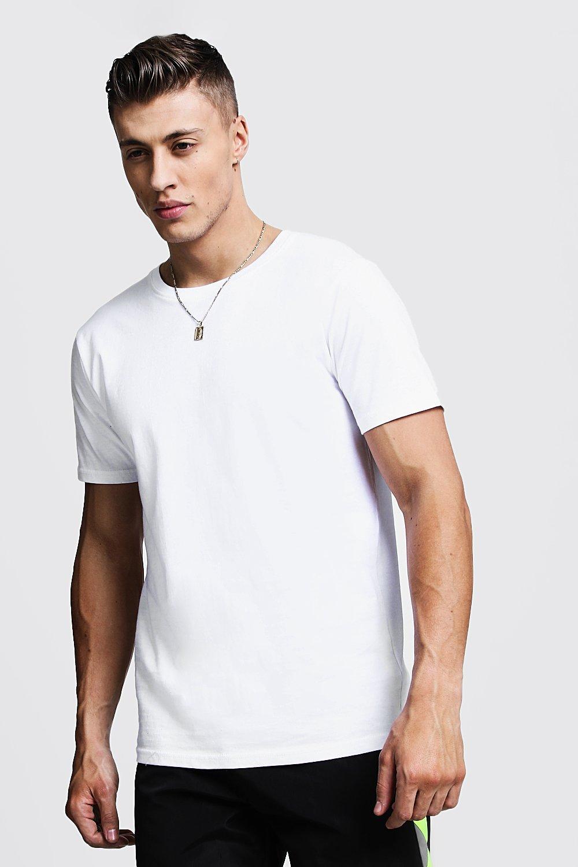 Boohoo   Облегающая удлиненная футболка   Clouty