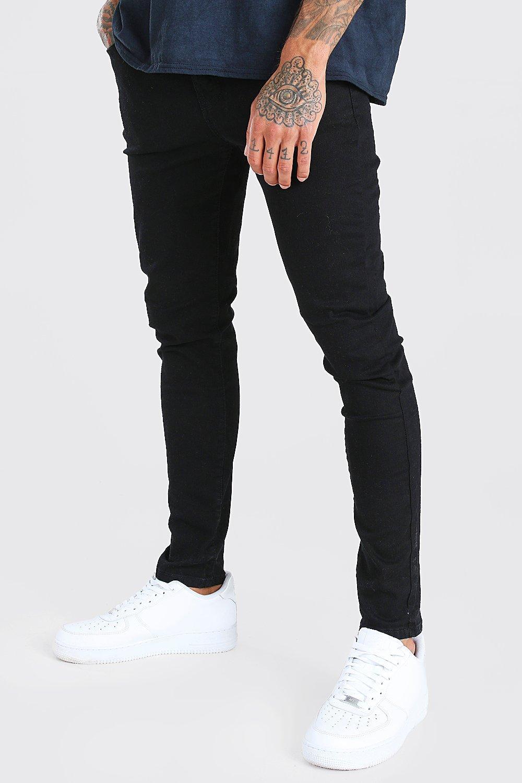Boohoo   Суперузкие джинсы из черного денима   Clouty