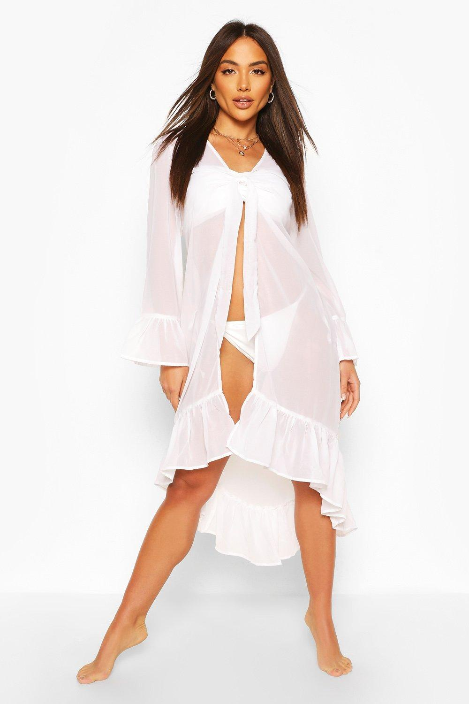 Boohoo | Пляжное кимоно | Clouty